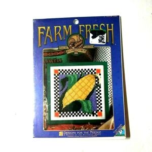 "Designs For The Needle Cross Stitch Kit ""Corn"""